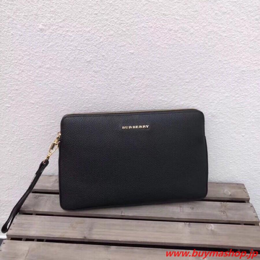 バーバリー ブラックレーベル クラッチバック-偽物 黒 新作 ブランド鞄 メンズ ビジネス ロイヤルファミリー イギリス風 スーパーコピーブランド販売