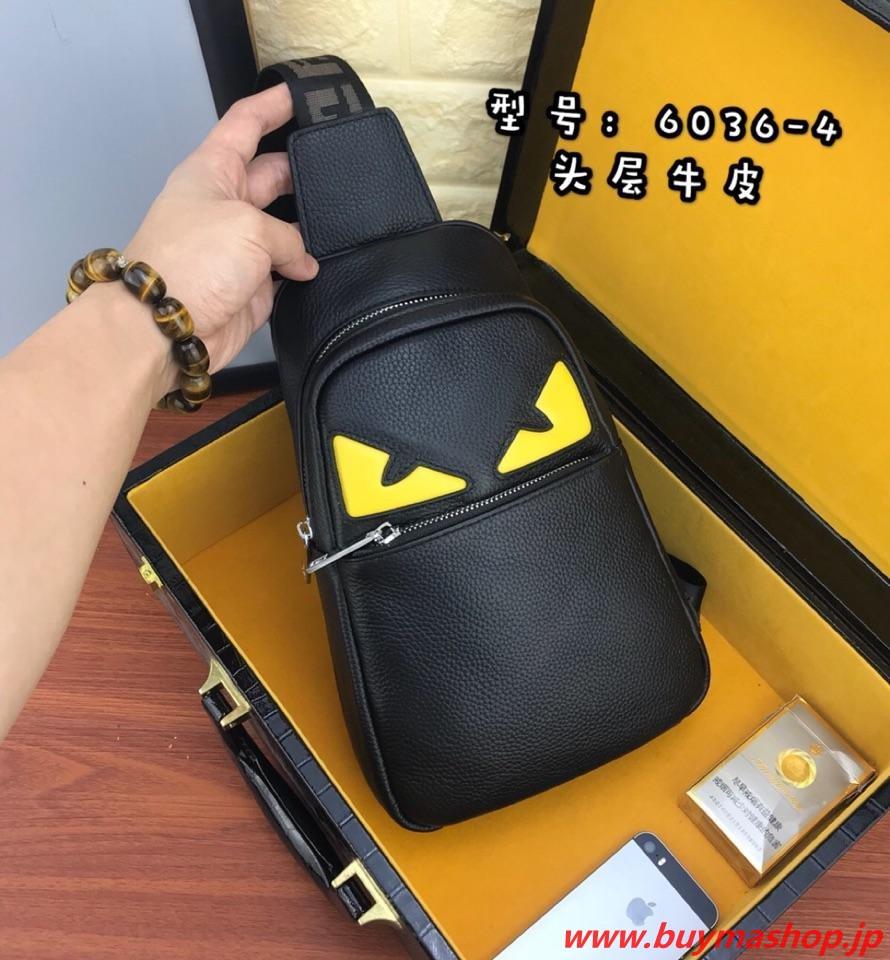 フェンディ モンスター 流行り-偽物 黒 新作 バッグ バグズ アイ 斜めがけバッグ メンズ トラベルバッグ 旅行 スーパーコピーブランド販売