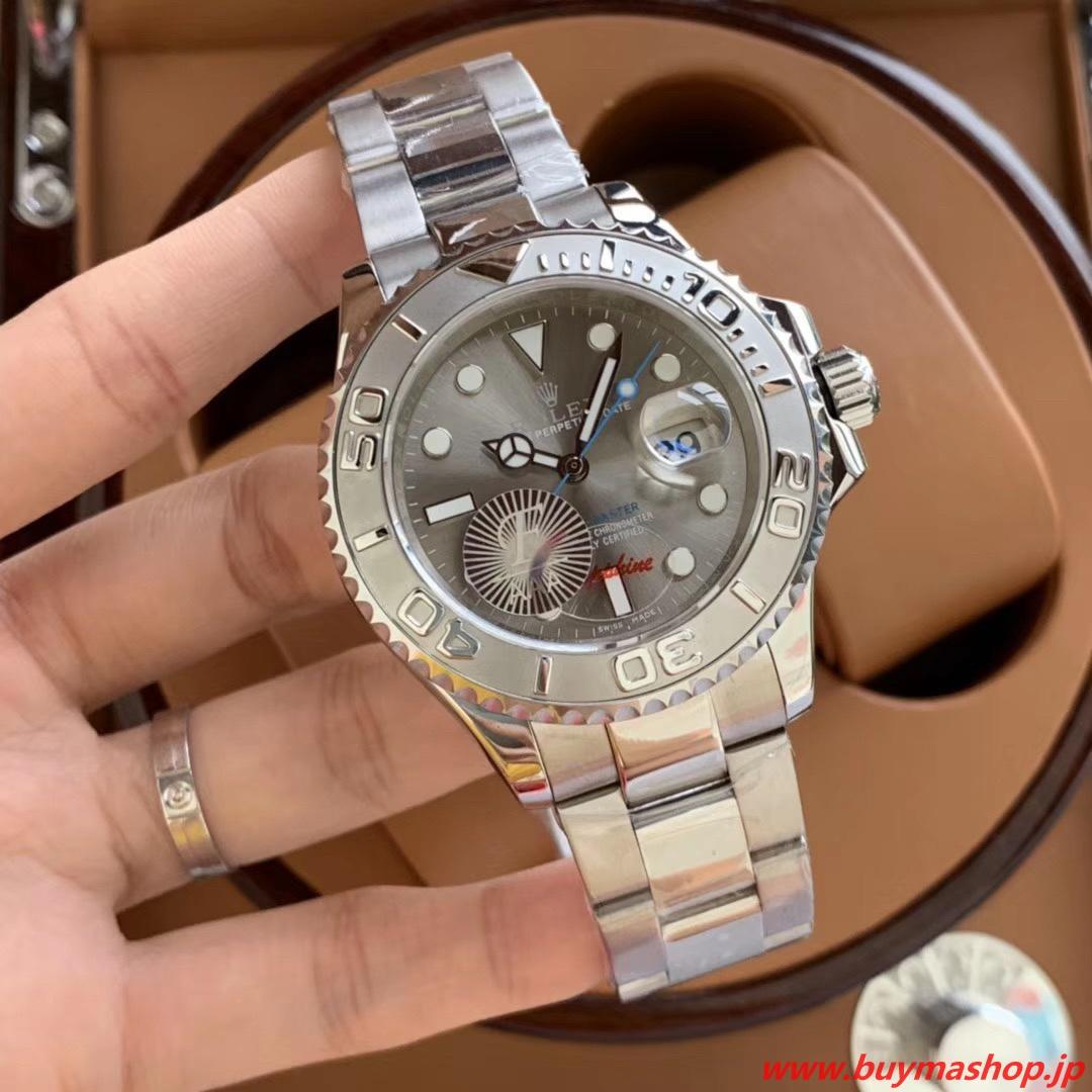 ヨットマスター ダークロジウム 買取-偽物 ロレックス グレー メンズ腕時計 デイトジャスト 芸能人 ボーイズ 魅力 40mm 時計 ブランド 安い