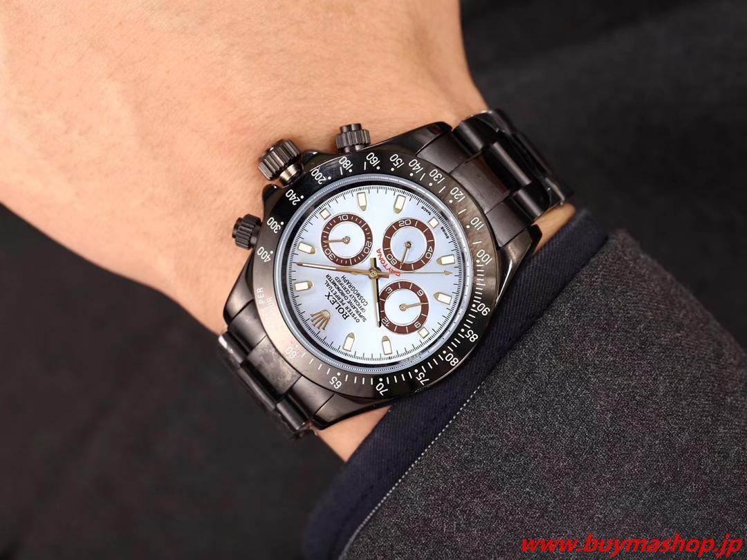 ロレックス デイトナ 記念モデル-偽物 ライトブルー 75周年 メンズ腕時計 43mm ハイグレード 贅沢 ファッション 時計 ブランド 安い