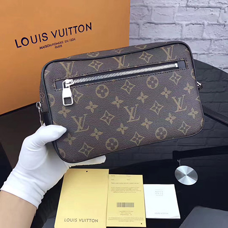 LOUIS VUITTON|ルイヴィトン スーパーコピー セカンドバッグ ダミエ.グラフィット ポシェット.カサ