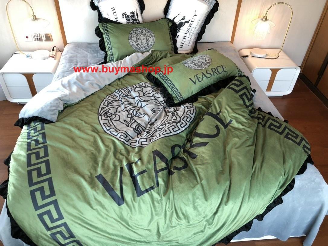 秋冬绒品 ブランド 寝具 シーツ 麻 シンサレート 布団 おすすめ おしゃれ 布団 高級でおしゃれなブランド寝具布団カバー、ベッドシーツ、枕カバー4点セット